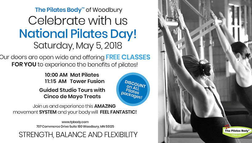 Celebrate National Pilates Day May 5th!