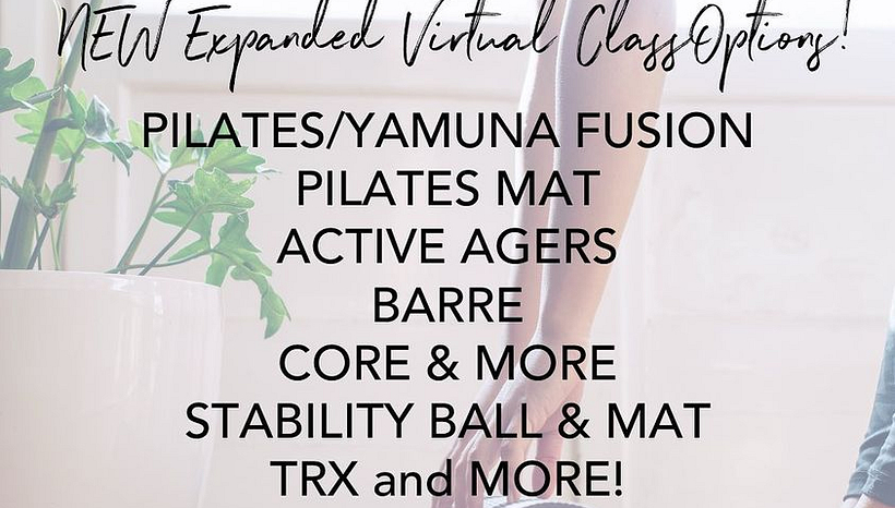 Expanded Virtual Class Offerings!