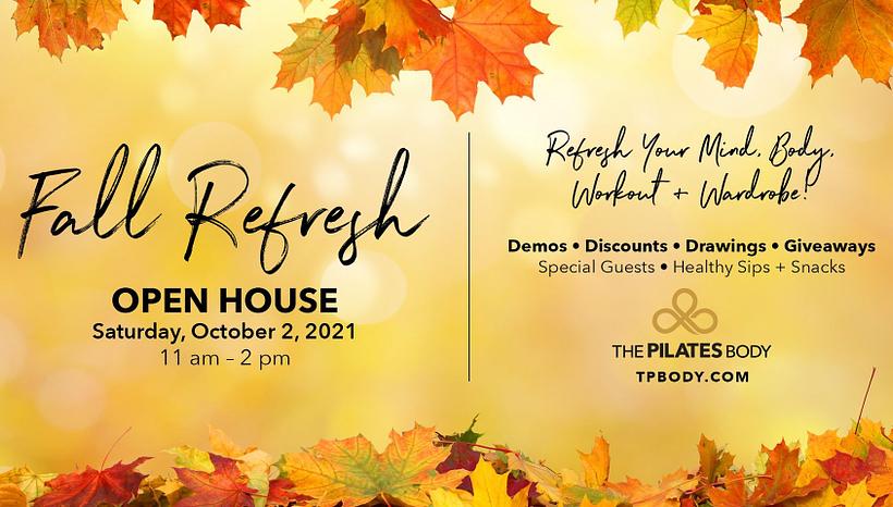 Studio Open House Saturday, October 2nd